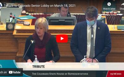 A Tribute to Colorado Senior Lobby